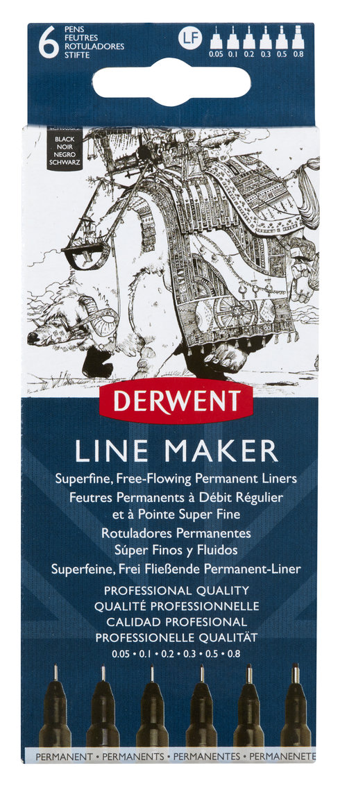 Derwent Line Maker Black