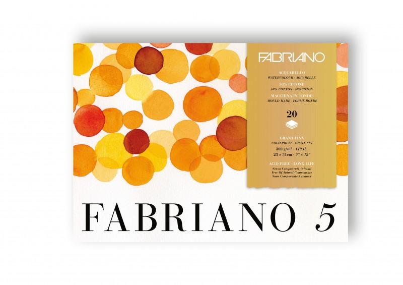 Block Fabriano 5 Grano Fino
