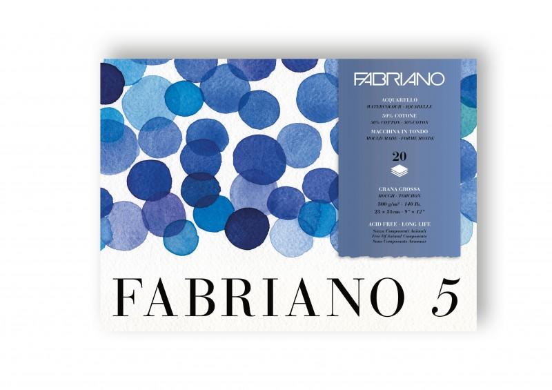Block Fabriano 5 Grano Grueso